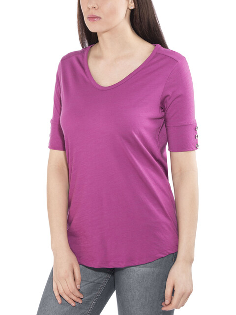 Royal Robbins Merinolux V-Neck Tee Women Aster